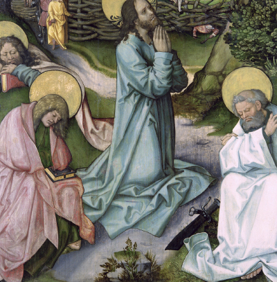 duchowe zmagania jezusa w ogrójcu